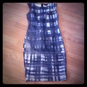 Mossimo Gray & Black Dress